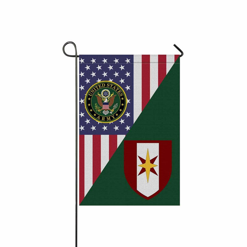 US ARMY 44 MEDICAL BRIGADE Garden Flag/Yard Flag 12 inches x 18 inches Twin-Side Printing