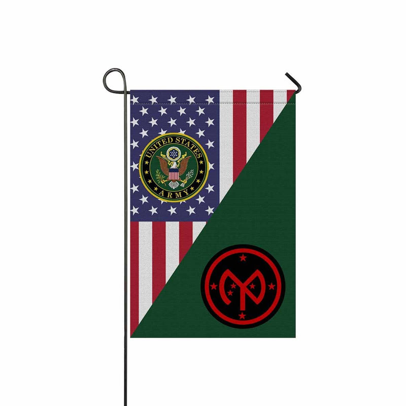 US ARMY 27TH INFANTRY BRIGADE COMBAT TEAM Garden Flag/Yard Flag 12 inches x 18 inches Twin-Side Printing