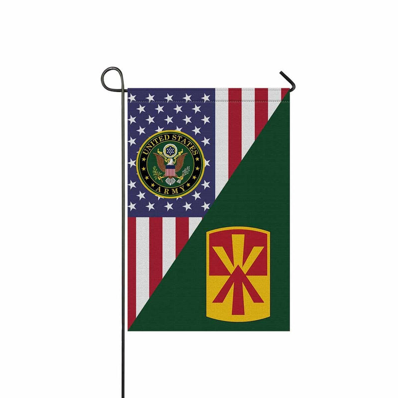 US ARMY 11TH AIR DEFENSE ARTILLERY BRIGADE Garden Flag/Yard Flag 12 inches x 18 inches Twin-Side Printing