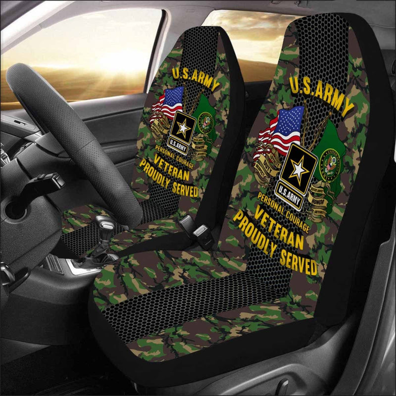 US Army Veteran Car Seat Covers (Set of 2)