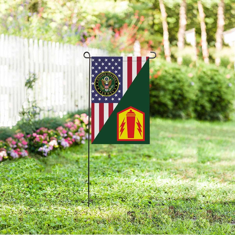 US ARMY 41 FIRES BRIGADE Garden Flag/Yard Flag 12 inches x 18 inches Twin-Side Printing