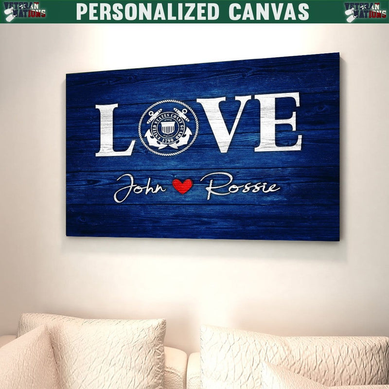 Personalized Canvas - Love Valentine Gift