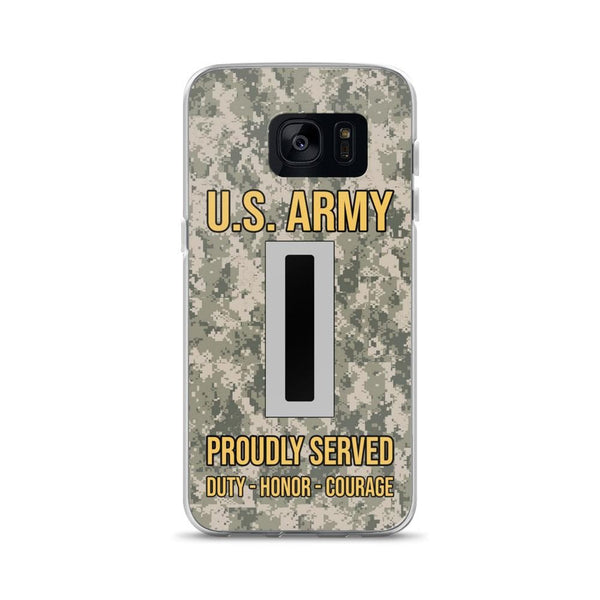US Army W-5 Chief Warrant Officer 5 W5 CW5 Warrant Officer Ranks Samsung Case