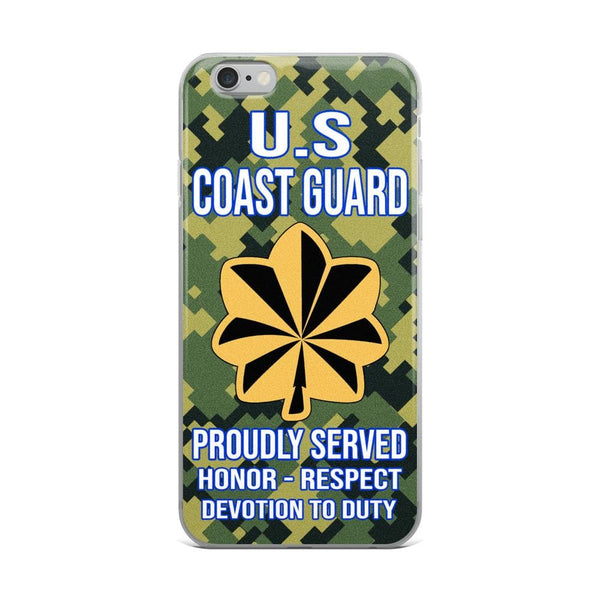 US Coast Guard O-4 Lieutenant Commander O4 LCDR Junior Officer Ranks iPhone Case