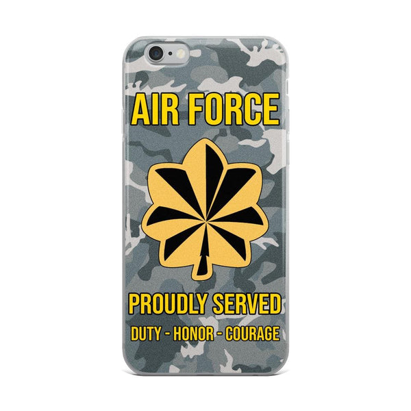 US Air Force O-4 Major Maj O4 Field Officer Ranks iPhone Case
