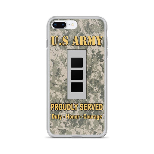 US Army W-3 Chief Warrant Officer 3 W3 CW3 Warrant Officer Ranks iPhone Case