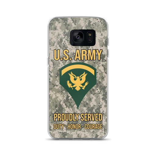 US Army E-5 SPC E5 Specialist Ranks Samsung Case