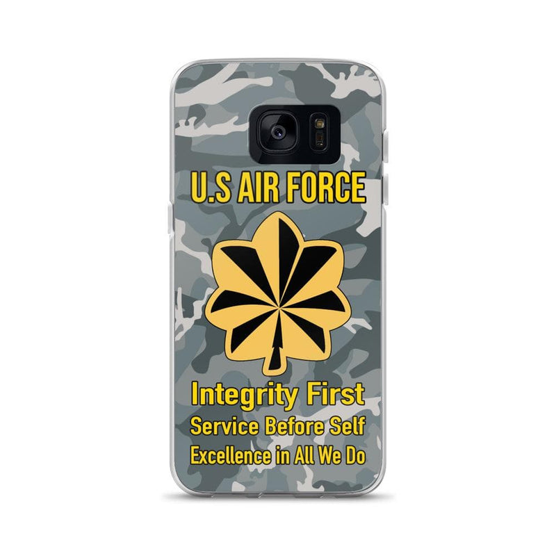 US Air Force O-4 Major Maj O4 Field Officer Ranks Samsung Case