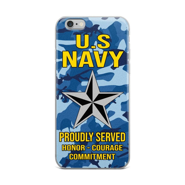 US Navy O-7 Rear Admiral Lower Half O7 RDML Flag Officer Ranks iPhone Case