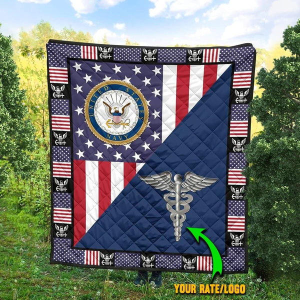 U.S Navy - Your Rate Blanket Quilt