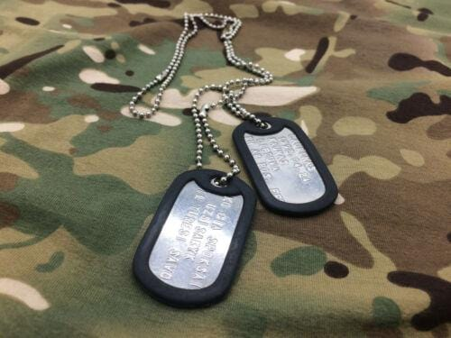Military Dog Tag - Custom Made with Your Information