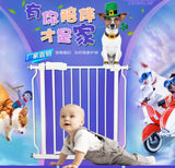 Free Delivery Easy Open Auto Swing Baby Safety Gate Pet Fence - Juzz4Baby