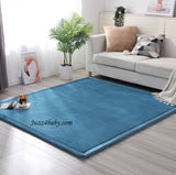 Japanese Living Room Fleece Coral Tatami Carpet