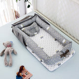 【Foldable】Baby Separated Bed Baby Cot Newborn Sleeper Sleep By Your Side - Juzz4Baby