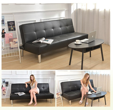 Free delivery 2 in 1 Foldable Sofa Bed /Sofabed in Single Bed Size
