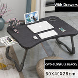 Free delivery Computer Laptop Foldable Lazy desk Bed Table