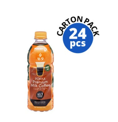 POKKA 500ML Milk Tea / Milk Coffee ( 500ML x 24 Bottles) Carton