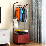 Simple Design Wardrobe Clothes Rack With Storage Drawers - Juzz4Baby