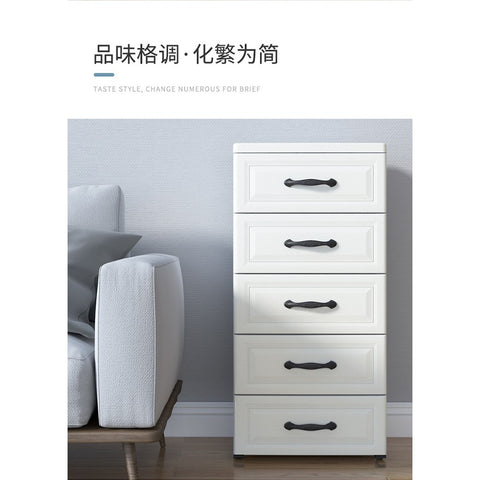 3 Tiers / 5 Tiers Storage Cabinet Drawers Bedside Table - Juzz4Baby