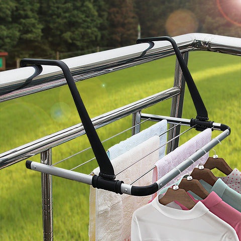 Foldable Aluminum Towel Drying Rack balcony Drying Rack