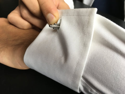 How To Wear Cufflinks 2