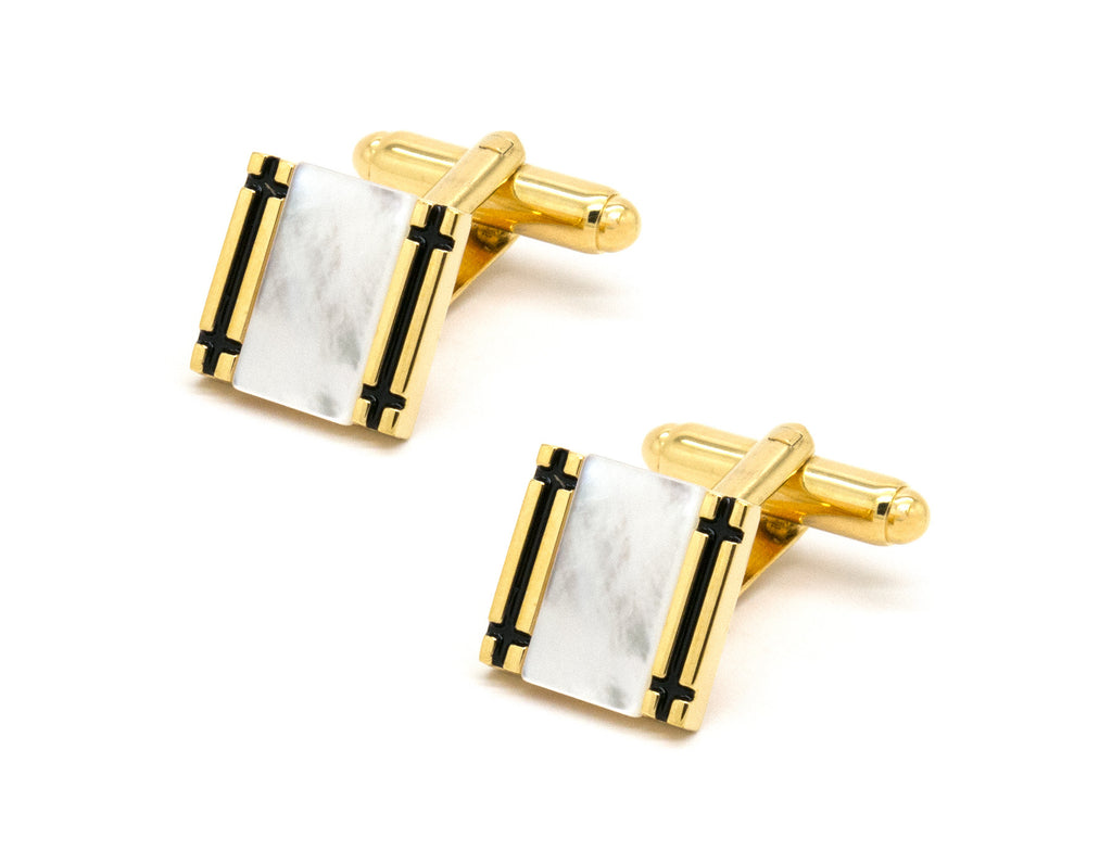 Barbesse Gold Cufflinks