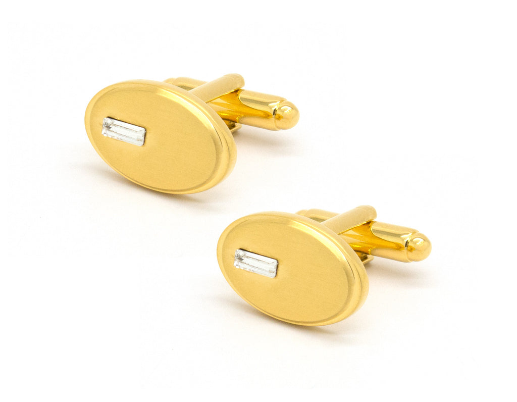 Diora Gold Cufflinks