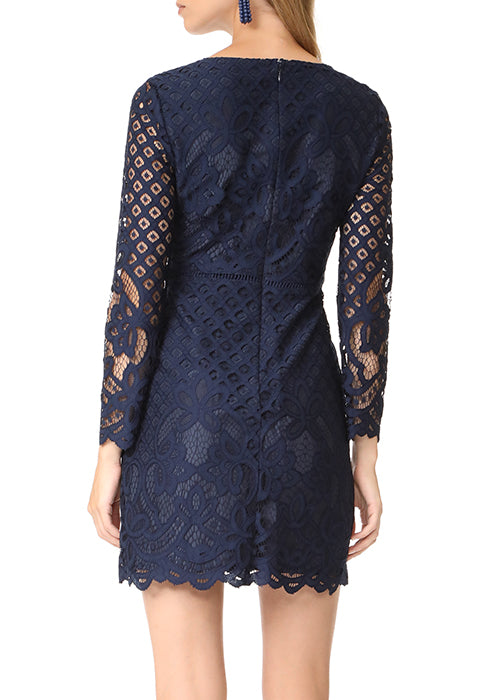 Spence Fitted Lace Dress