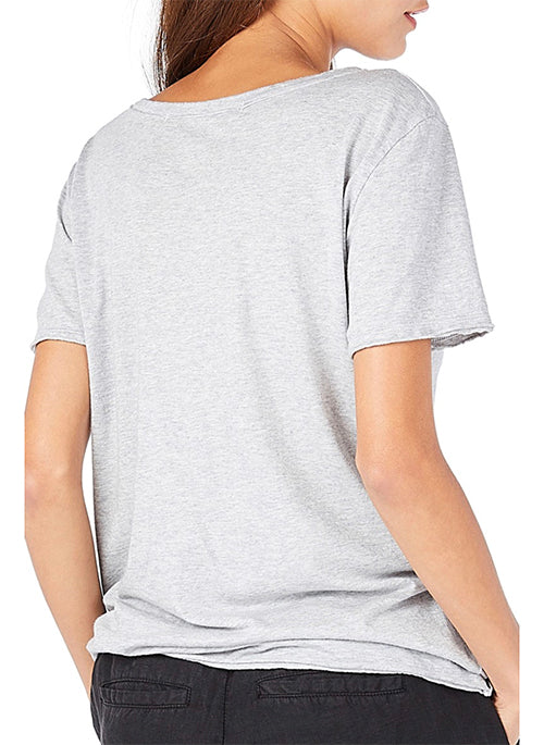 Cut Out Crew Neck