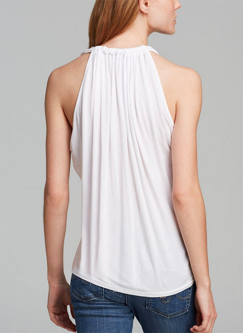 Draped Halter (White)