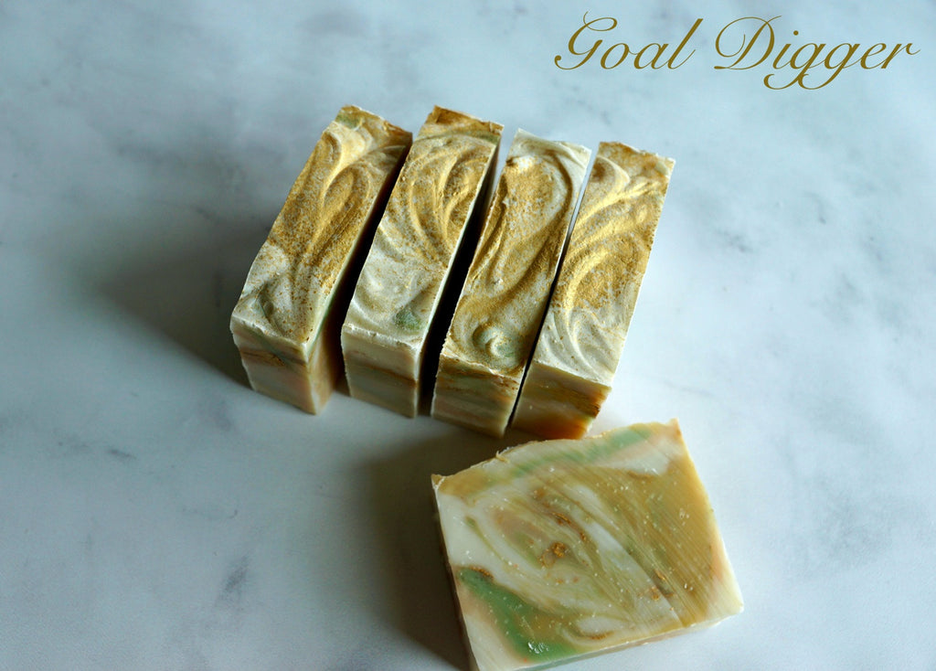 goal-digger-artisan-soap-fivegoldenapples-bar-gold-best-coldprocess-handmade-inspire