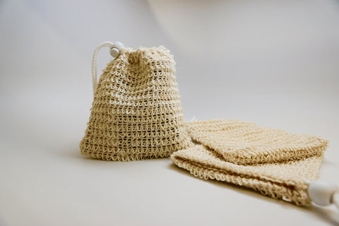 Sisal Pouch - Five Golden Apples
