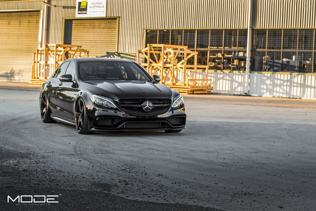 MODE AMG C63S Blackerrr.... Edition 1 | The MODE-SIX3S