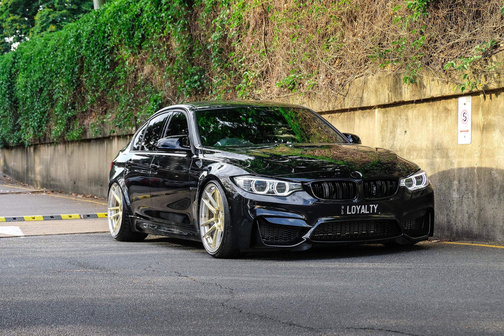 Slammed BMW F80 M3 Competition - Gepfeffert by KW Suspension