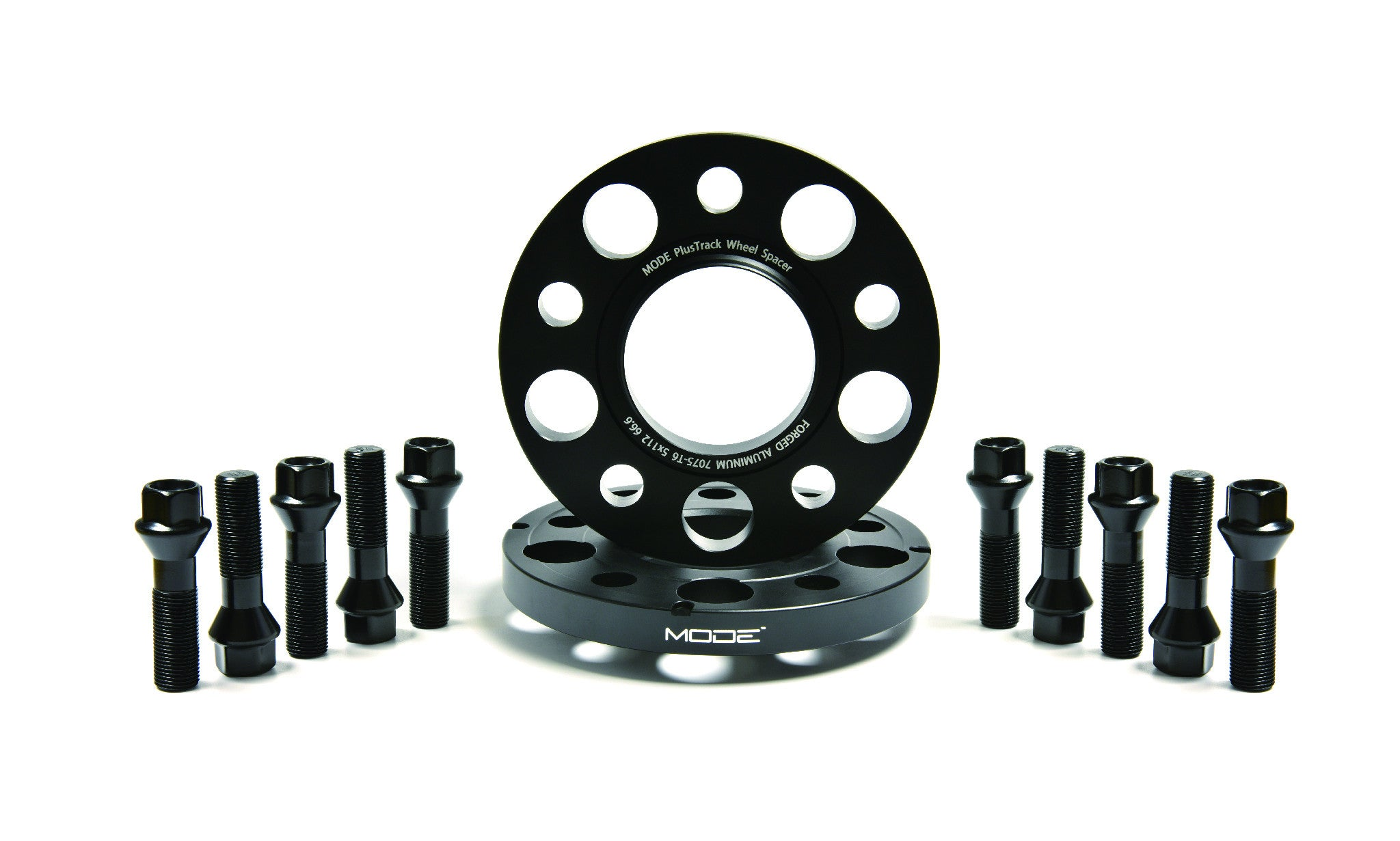 MODE PlusTrack Wheel Spacer Kit 15mm VW & Audi A1/S1/A3/S3/RS3 Q2/Q3/RSQ3 TT/TTS/TTRS - MODE Auto Concepts