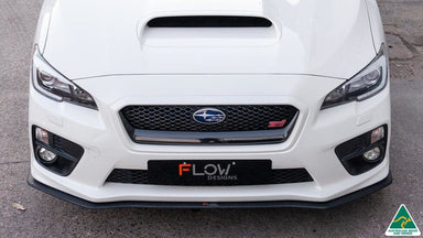 Flow Designs Subaru  Impreza WRX, STI VA1, VA2 Front Splitter Available at MODE Auto Concepts
