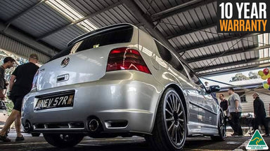 Flow Designs Volkswagen VW Golf R32 MK4 Rear Valance Available at MODE Auto Concepts