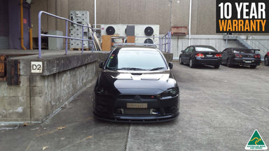 Flow Designs Mitsubishi  Lancer Ralliart CJ Front Splitter Available at MODE Auto Concepts