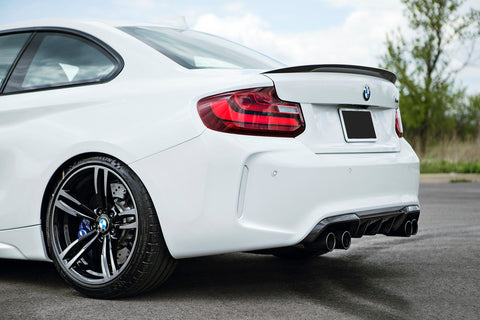 Carbone Collection Performance Trunk Lip suits BMW M2 & M2 Competition Coupe (F87) 2016-2017