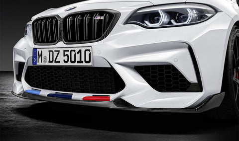 Genuine BMW M Performance Front Carbon Splitter - F87 M2 Competition