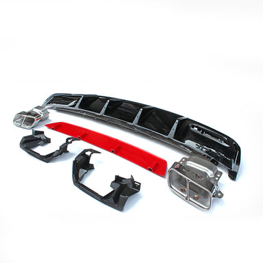 Exon Mercedes Benz A45 AMG Facelift Diffuser Kit - (W176) 2013-Current - MODE Auto Concepts