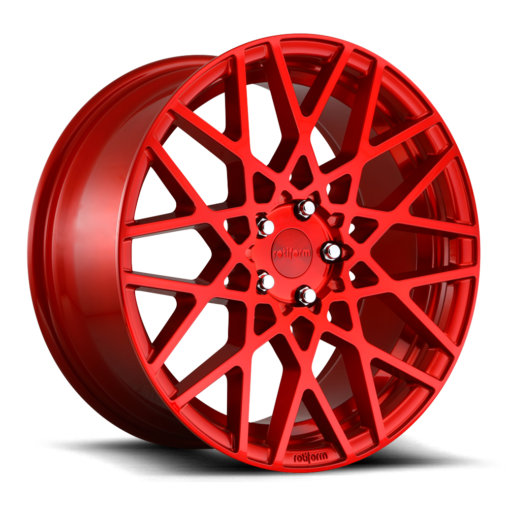 Rotiform BLQ Gloss Red