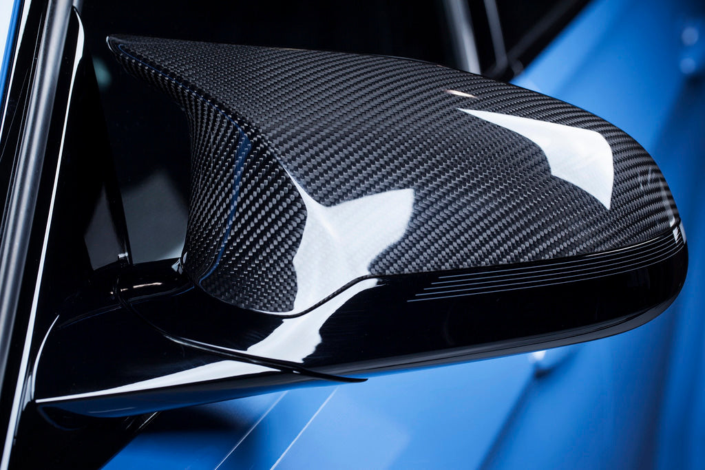 Carbone Collection Competition Dry Carbon Mirror Cover suits M3/M4 F80/F82 2014-2019 & M2 Competition Coupe (F87) 2016-2017 - MODE Auto Concepts