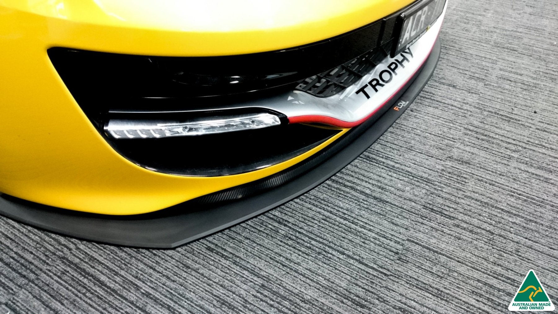 Flow Designs Renault  Megane RS MK3 Front Splitter Available at MODE Auto Concepts