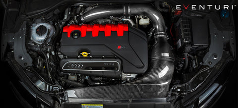 Eventuri Black Carbon Intake suits Audi RS3 FL 8V