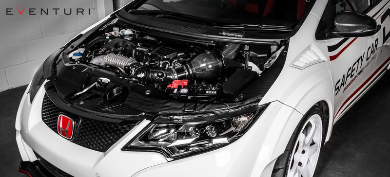 Eventuri Black Carbon Intake suits Honda FK2 Civic Type R RHD