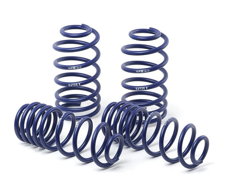 H&R Lowering Springs suits BMW 1M E82 2011 - 2012  (F - 30mm / R - 15mm)