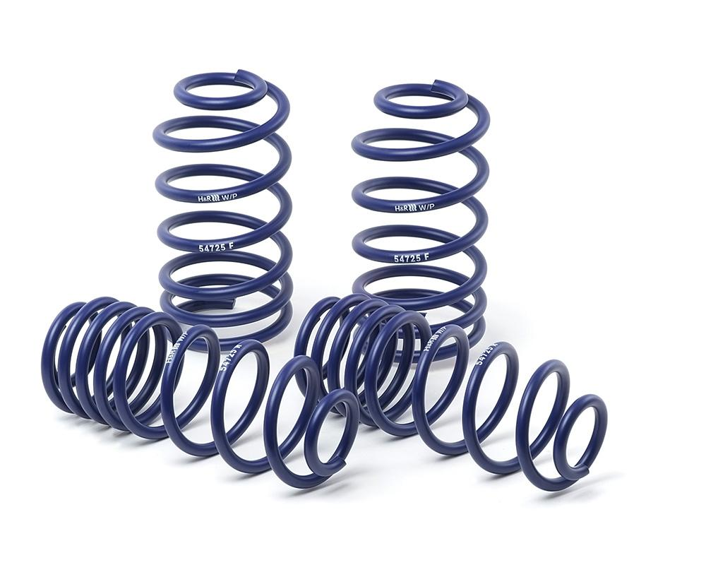H&R Lowering Springs suits Fiat 500 + ABARTH TYPE 312 2007 - COUPE  (F - 25-30mm / R - 30-35mm)