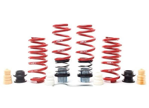 H&R Adjustable VSS Lowering Springs suits VOLKSWAGEN GOLF Mk7 R Wagon  2012- (F 15-35mm R 15-35mm)
