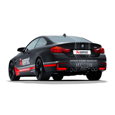 Akrapovic Evolution Line (Titanium) w Titanium Tailpipes suits BMW M3/M4 F80/F82